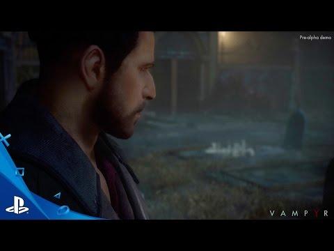 Появился первый геймплейный ролик Vampyr
