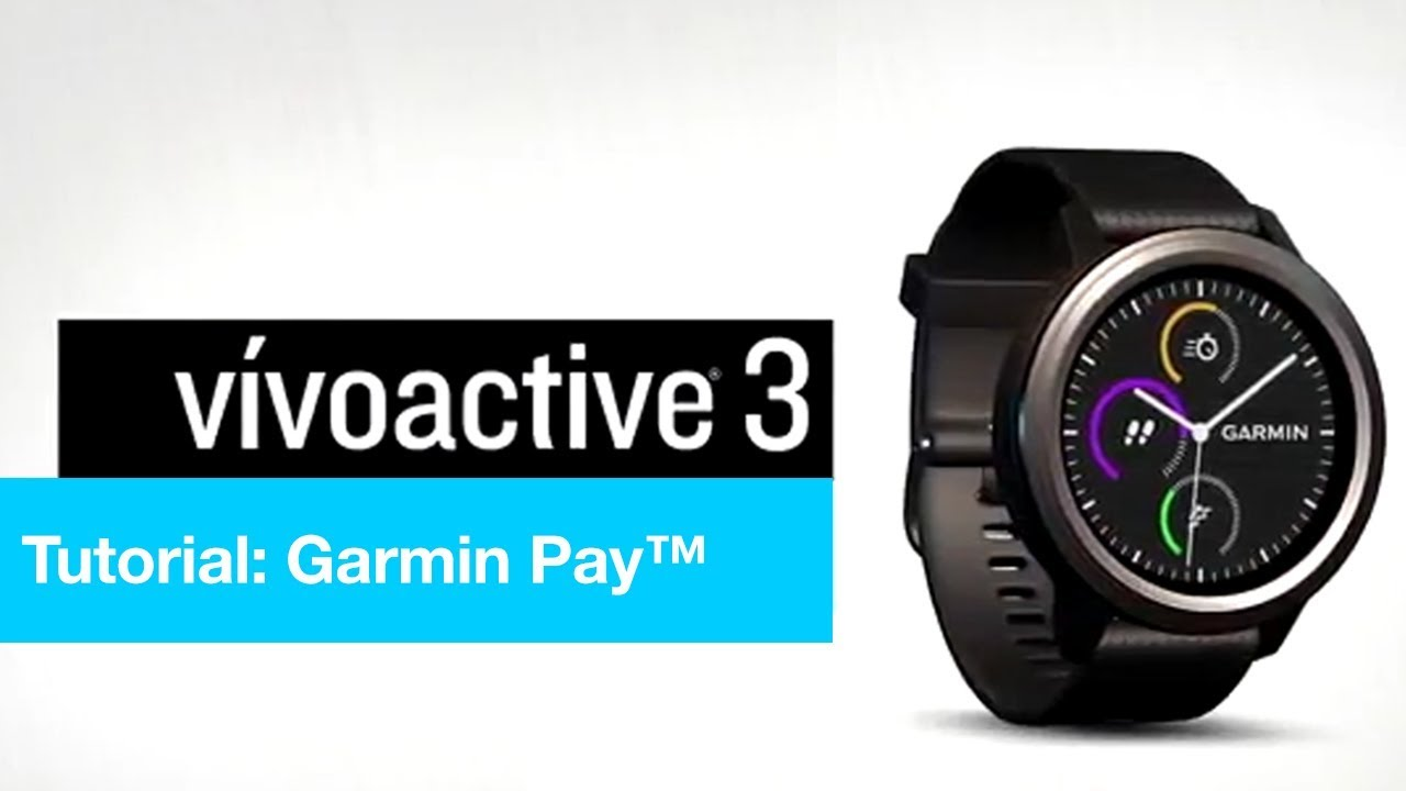 How to use Garmin Pay 1