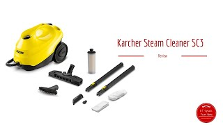 3. Karcher Steam Cleaner SC3 review