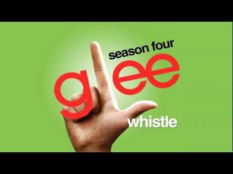 Tekst piosenki Glee Cast - Whistle po polsku