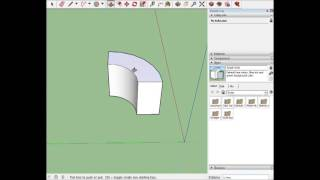 Video Curved ramp Sketchup tutorial MP3, 3GP, MP4, WEBM, AVI, FLV Desember 2017