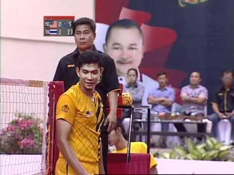 ISTAF Super Series South Sumatra 2012 men's final: Malaysia - Thailand (second set)
