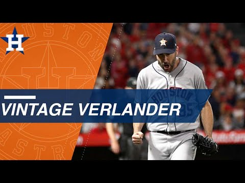 Verlander shuts out Angels, notches 2,500th career K (видео)