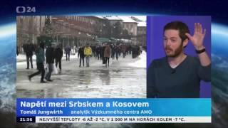 Napětí mezi Srbskem a Kosovem