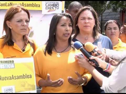 """Yajaira Castro: """"Tenemos las propuestas que mejorarán la seguridad en el país"""""""