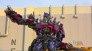Full Transformers: The Ride 3D Queue And Ride POV At Universal Orlando