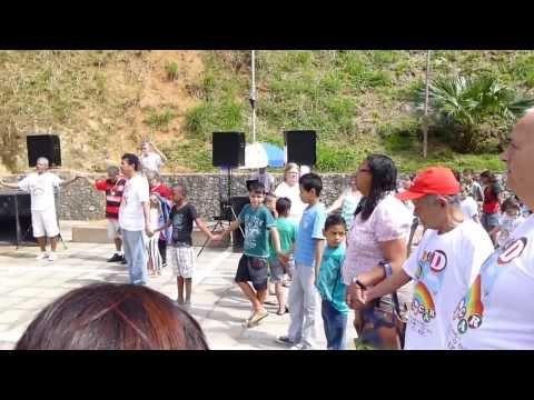 Oração de Abertura do Dia D Brincar, em Engenheiro Paulo de Frontin-RJ