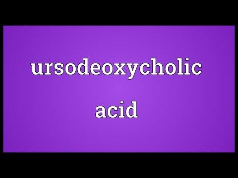 Ursodeoxycholic acid Meaning