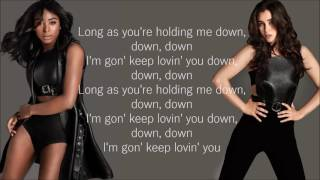 image of Fifth Harmony - Down (Lyrics)