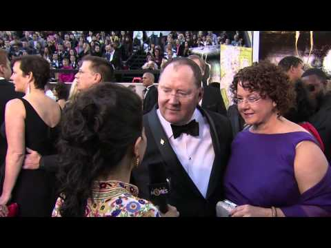 Lasseter - The head of Pixar and Walt Disney Animation Studio talks to Anupama Chopra about their Oscar winner animated feature 'Brave' and how he picks his projects.