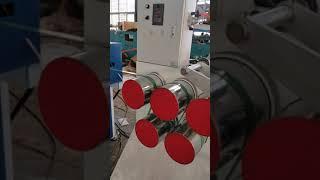 PLC twin screw Width 5M PET strap extrusion machine youtube video