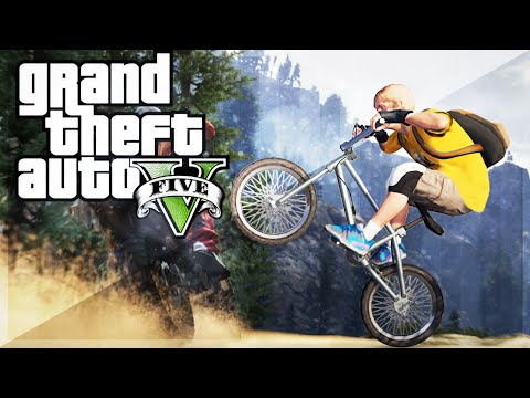 montage - GTA5 BMX STUNTS