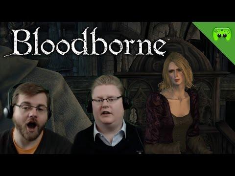BLOODBORNE # 27 - Die Wanderhure «» Let's Play Bloodborne Together | HD Gameplay