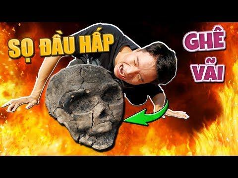 Tony | Thử Nướng Đầu Lâu Bọc Gà Chọi - Boil Chicken In Skull - Thời lượng: 11 phút.
