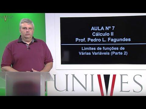 Cálculo II - Aula 7 - Limites de funções de Várias Variáveis (Parte 2)