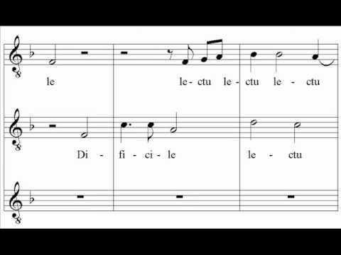 Mozart - Difficile lectu