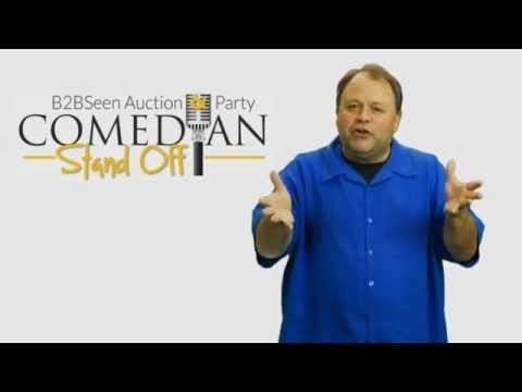 BMA B2BSeen Auction & Party: Comedian Stand Off -- Dan McGowan Wants To See You There!