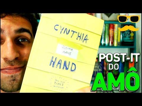 EU RECOMENDO: O ÚLTIMO ADEUS, CYNTHIA HAND (sem spoiler) | Livraria em Casa