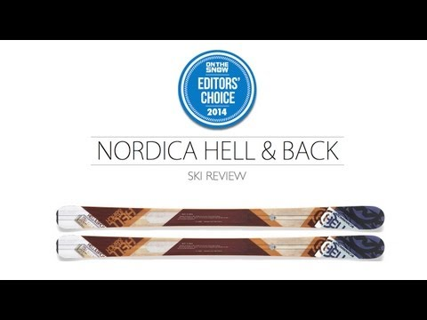 2014 Nordica Hell & Back Ski Review - Men's All Mountain Editors' Choice