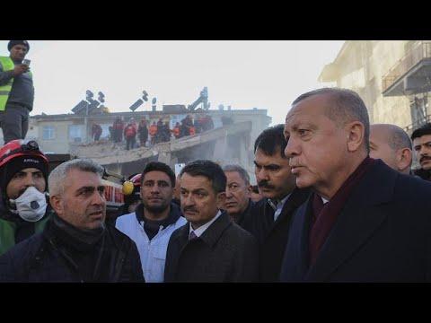 Video - Τουρκία: Αυξάνονται τα θύματα από τον σεισμό - 38 οι νεκροί