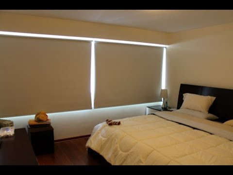 cortinas modernas - En este vídeo presentamos las top 3 cortinas Black Out para Dormitorios Ideales para decorar tu ventana y así mantener la mayor privacidad. Cortinas Roller e...