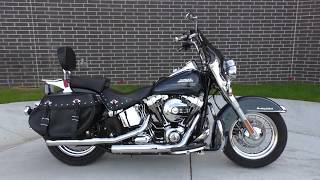 9. 036152   2016 Harley Davidson Heritage Softail Classic   FLSTC - Used motorcycles for sale