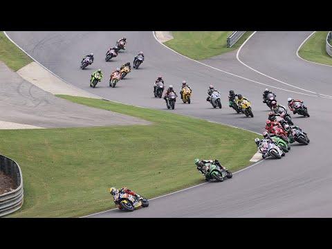 MotoAmerica Stock 1000 Race 1 at Alabama 2020