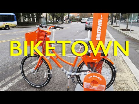 Portland Biketown Bike Reviewed!