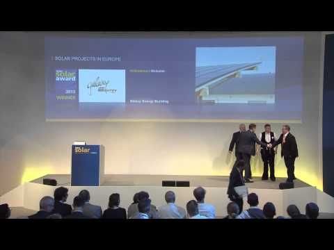 ARUN100 wins Intersolar Europe Award