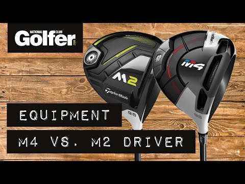 TaylorMade M4 Driver vs TaylorMade M2 Driver Comparison with Trackman 4