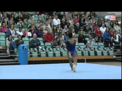 Marissa King- British Team Championships- Floor