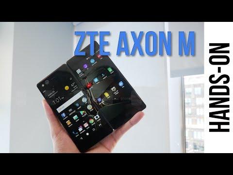 Video - ZTE Axon M: Παρουσιάστηκε επίσημα το smartphone με διπλή ανοιγόμενη οθόνη και περυσινά high-end specs