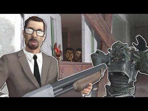 Garrys Mod - ZOMBIE SURVIVAL IN CREEPY HOSPITAL? - Garry's Mod Gameplay - Gmod Zombie Survival