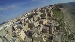 Karak Jordan  city images : Paragliding over Kerak castle in Jordan