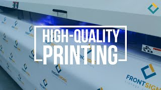Large Format Printing with High Quality UV inks