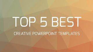 Video Top 5 Best Creative Powerpoint Templates MP3, 3GP, MP4, WEBM, AVI, FLV September 2019