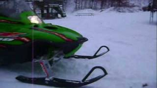 8. Arctic Cat Z440 LX ridin in the yard