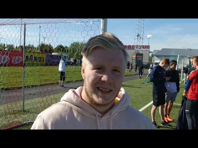Vítaskytta Íslands 2017 vann keppnina í strigaskóm