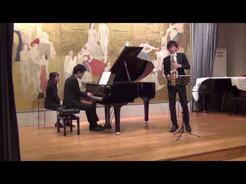 Concert « Musique de chambre et improvisation »<br /> André Caplet, Légende pour saxophone et piano