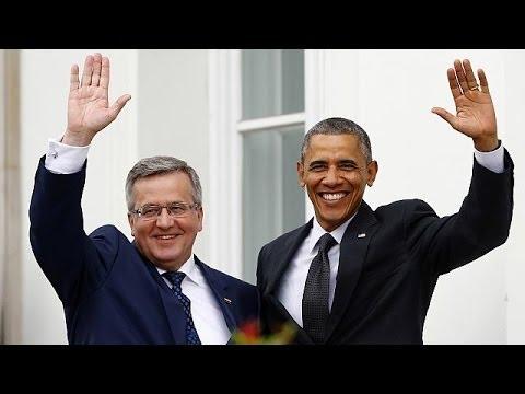 Pologne : Barack Obama rassurant, Barack Obama protecteur