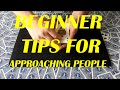 Easy Beginner Card Trick | Tips For Approaching People | Giveaway