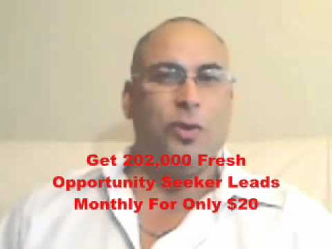 Home Business Opportunity – We Provide the Leads – Earn $1,000 – $3,000 + per/wk