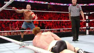 Video Raw - John Cena & Sheamus vs. Christian & Mark Henry MP3, 3GP, MP4, WEBM, AVI, FLV Juni 2019