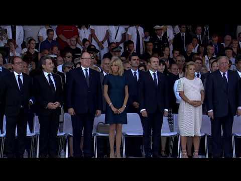 Cérémonie d'hommage aux victimes de l'attentat de Nice
