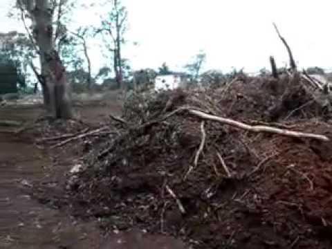 Construcão de loteamento irregular em Cotia enterrando nascentes e devantando a mata