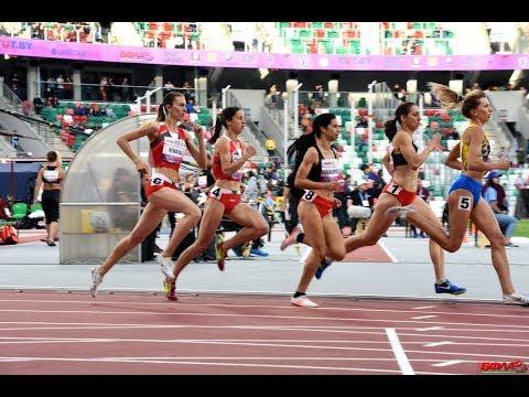 Орися Дем'янюк стала бронзовою призеркою міжнародної матчевої зустрічі збірних Білорусі, Балканських країн, Балтійський країн і України на дистанції 800м.(2.06,32)