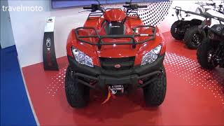 1. KYMCO MXU 450i E4 ATV 2018