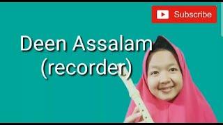 Video Deen Assalam ~ Nissa sabyan (recorder) MP3, 3GP, MP4, WEBM, AVI, FLV Juni 2019