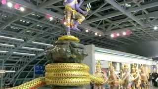 バンコク市内観光スワンナプーム国際空港