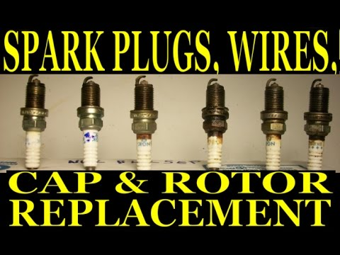 Replacing Spark Plugs, Wires, Cap and Rotor on a 1993 Lexus SC300 (2JZ-GE non-VVT-i)